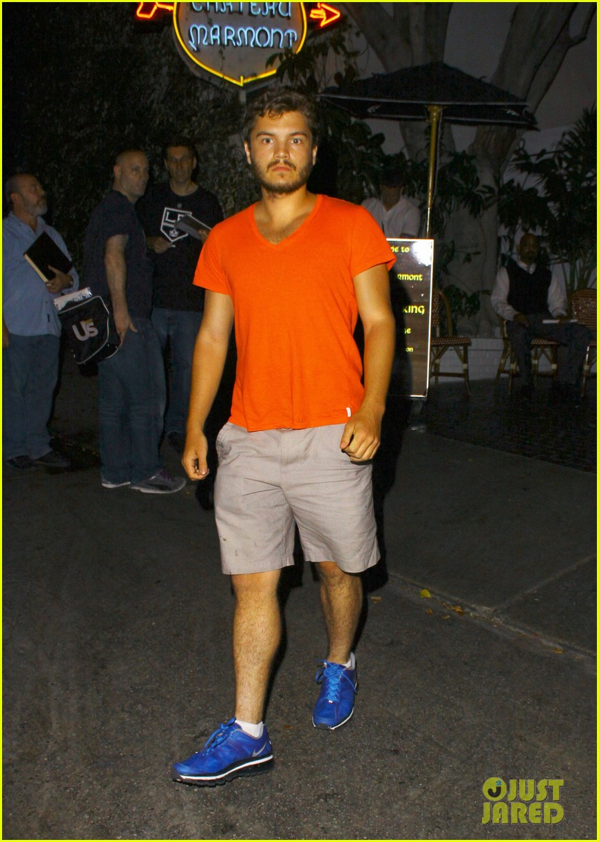emile hirsch chateau marmont night out 012704904