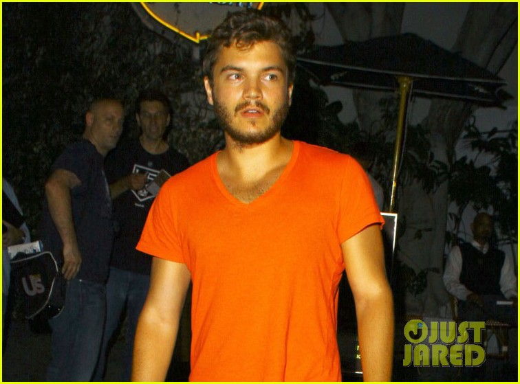 emile hirsch chateau marmont night out 022704905