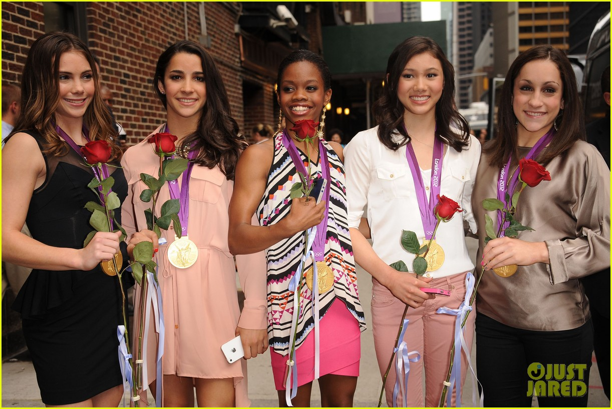 fierce five letterman show 032702262