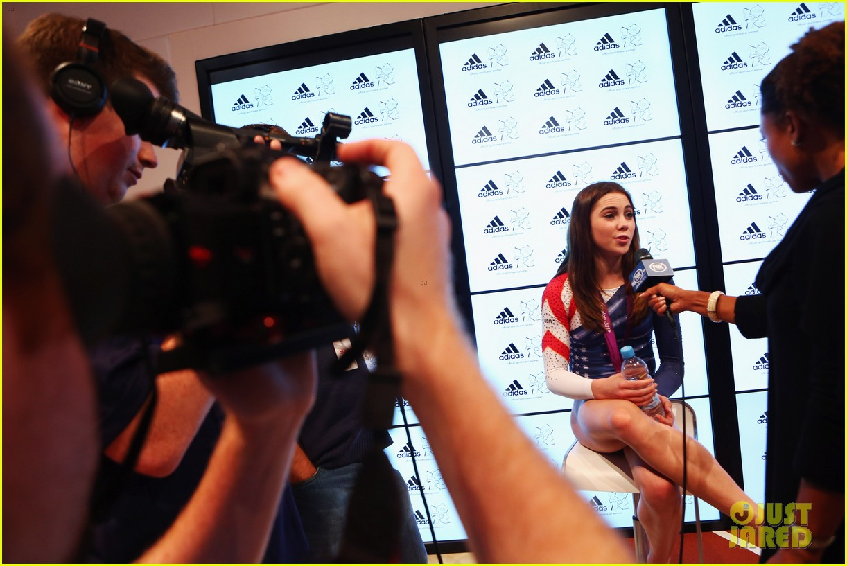 fab five celebrate olympic medals at adidas lounge 02