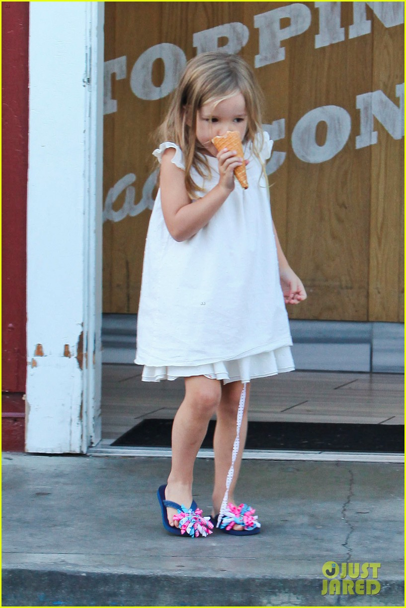 jennifer garner ben affleck ice cream kids 052709317