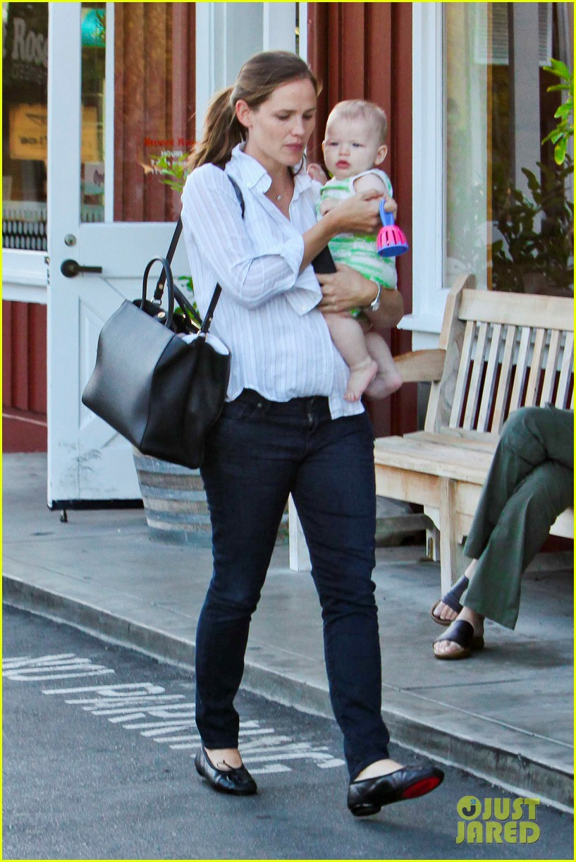 jennifer garner ben affleck ice cream kids 10