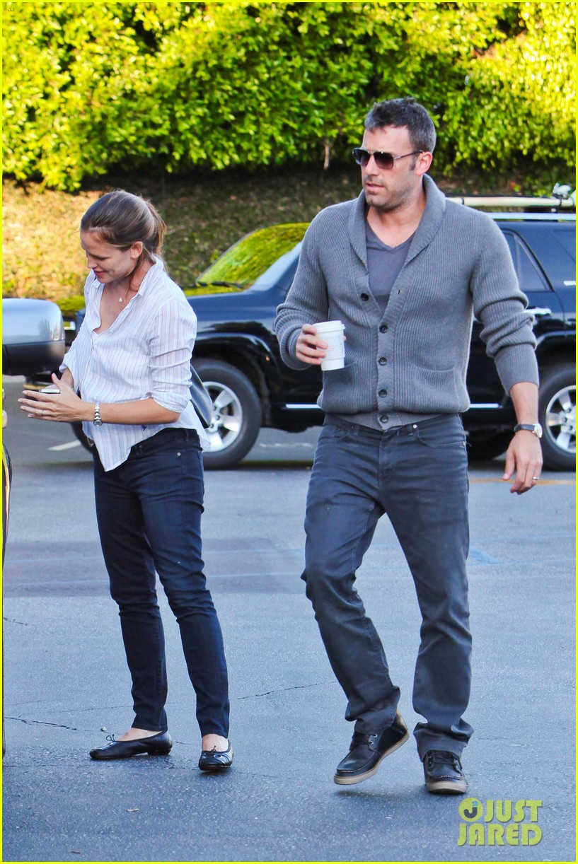 jennifer garner ben affleck ice cream kids 142709326