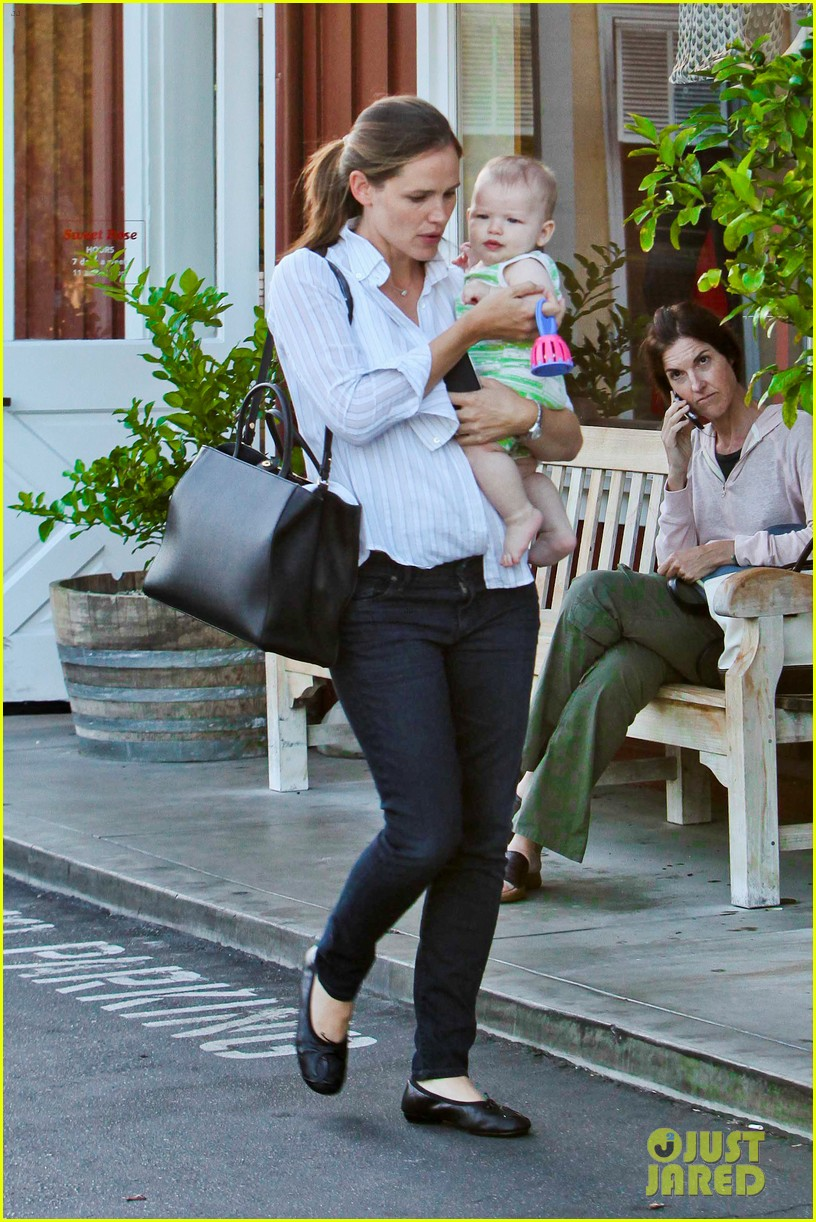 jennifer garner ben affleck ice cream kids 18