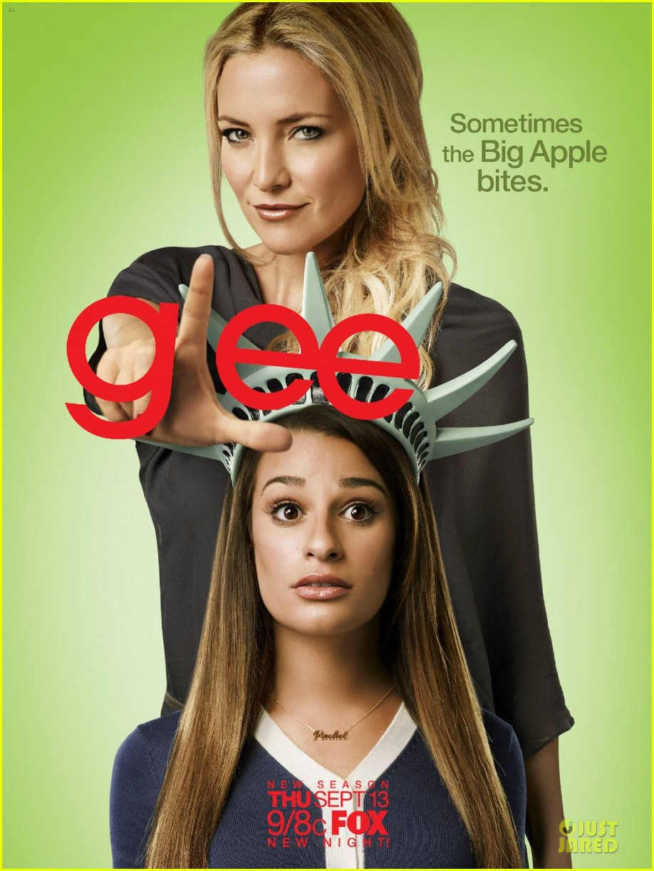 dianna agron missing from glee season 4 promo poster 03
