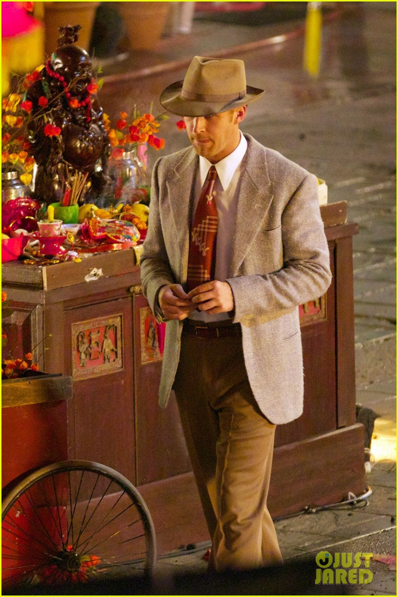 ryan gosling late night gangster squad reshoots 012707720