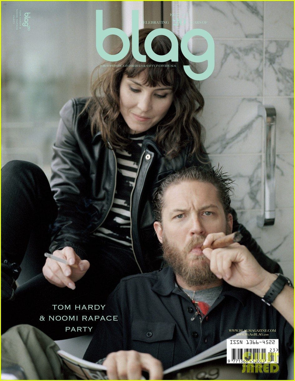 tom hardy noomi rapace cover blag magazine 012709830