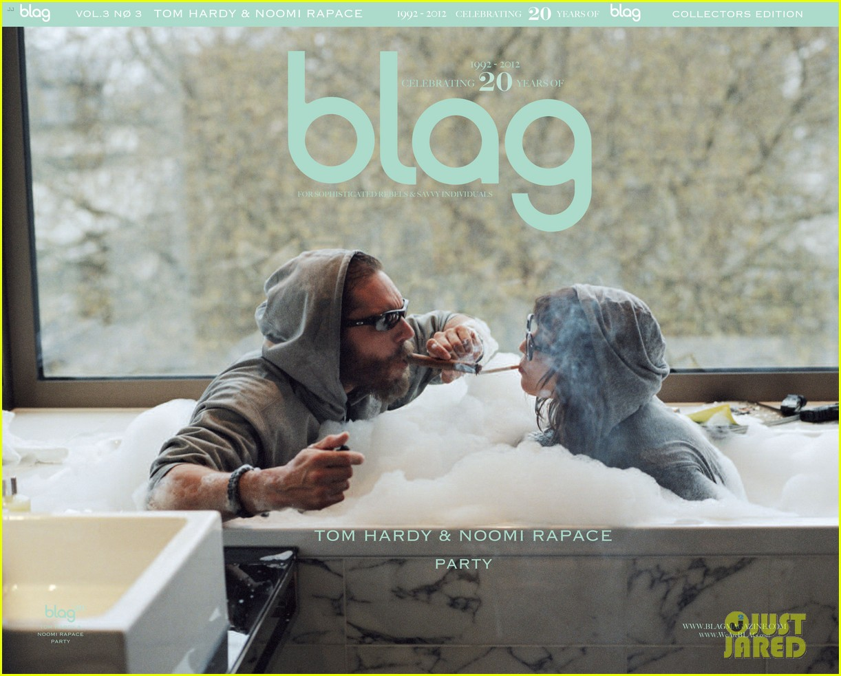 tom hardy noomi rapace cover blag magazine 022709831