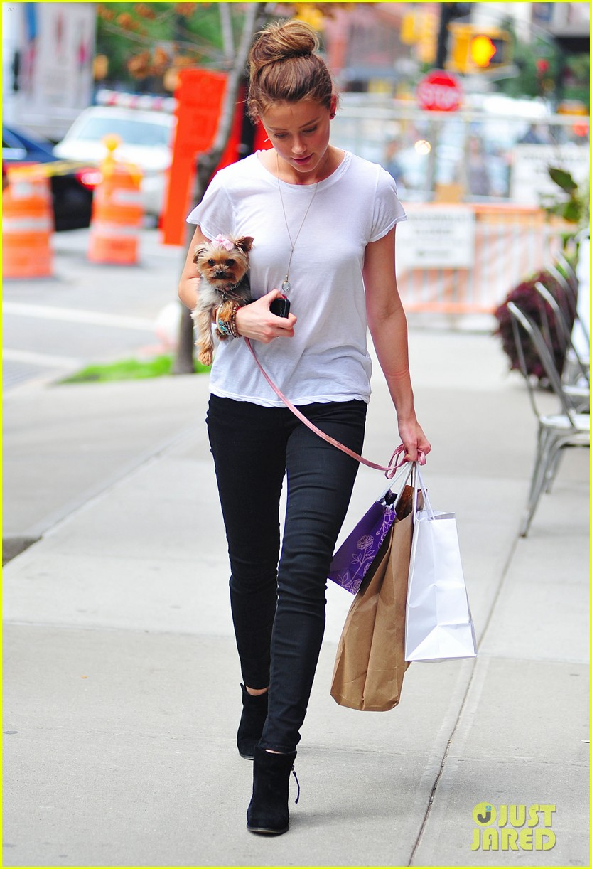 amber heard low profile in new york city 012709637