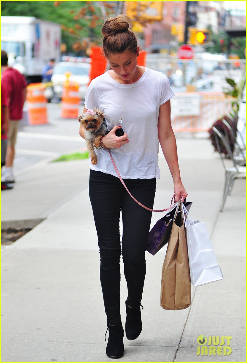 amber heard low profile in new york city 032709639