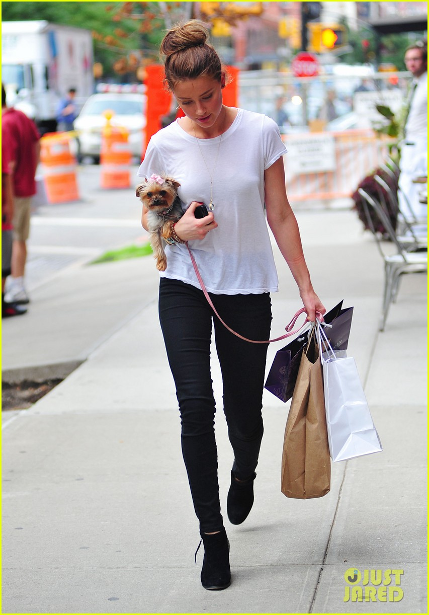 amber heard low profile in new york city 082709644