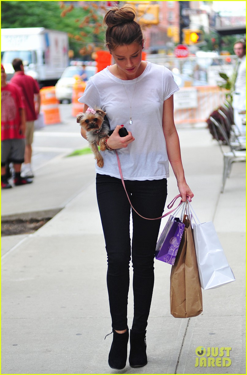 amber heard low profile in new york city 092709645