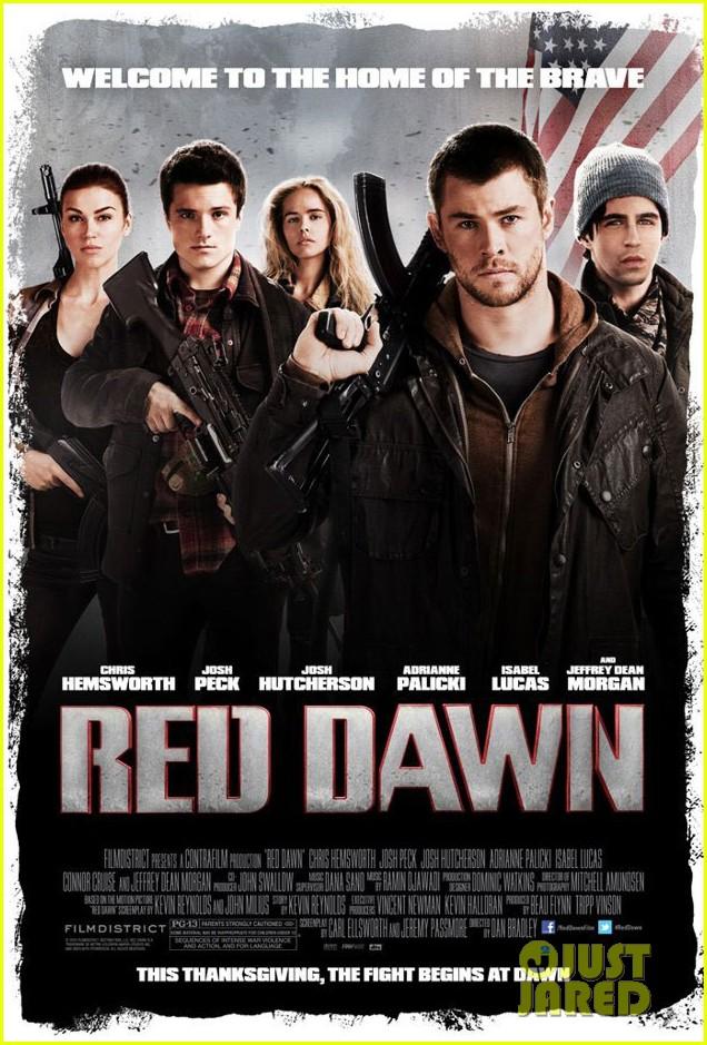 chris hemsworth red dawn poster trailer 012699705