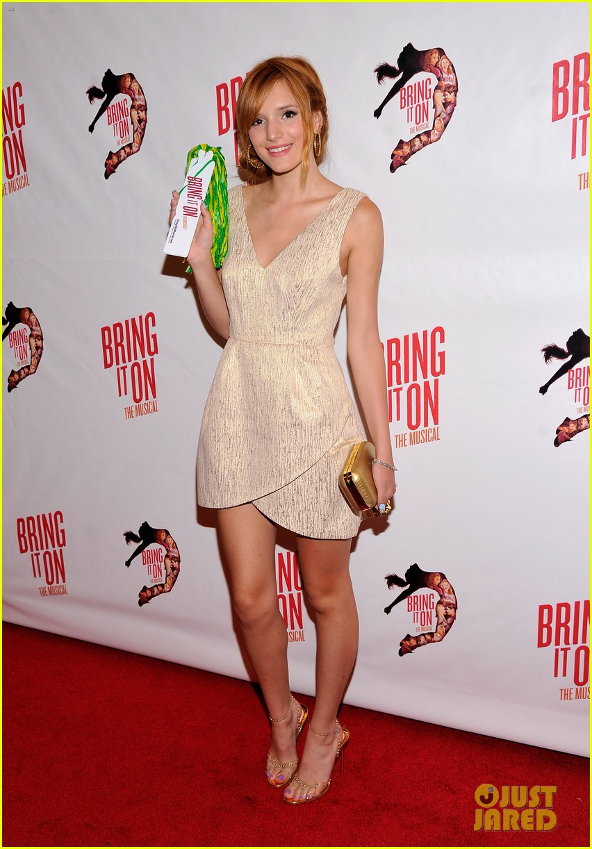 megan hilty krysta rodriguez bring it on opening night 032695665