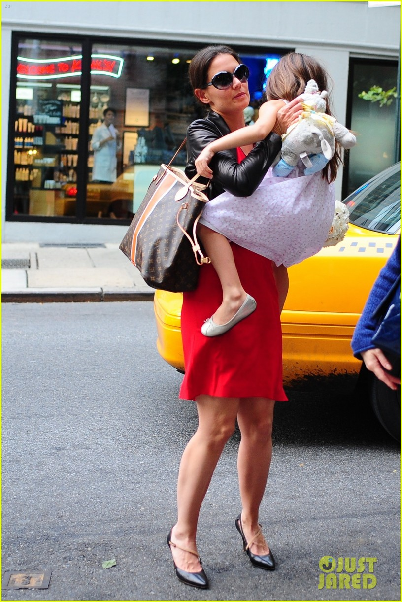 katie holmes suri taxi twosome 11