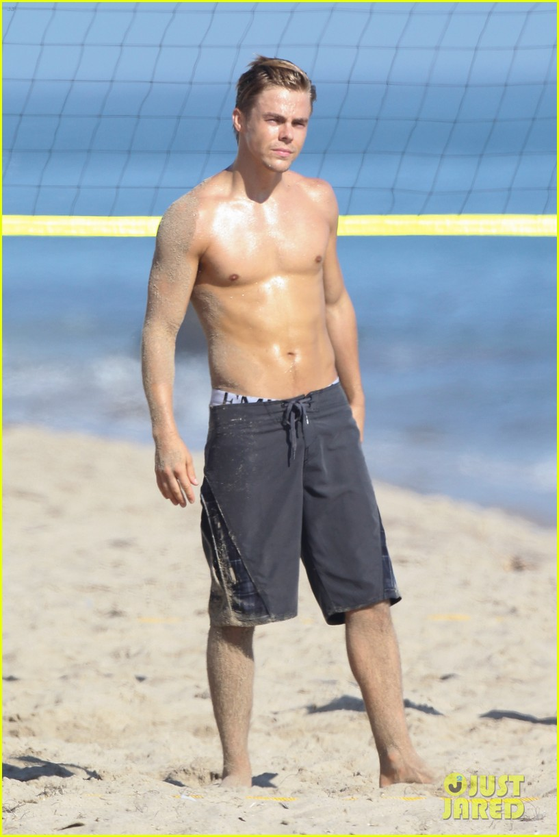 derek hough mark ballas shirtless beach day 162711270