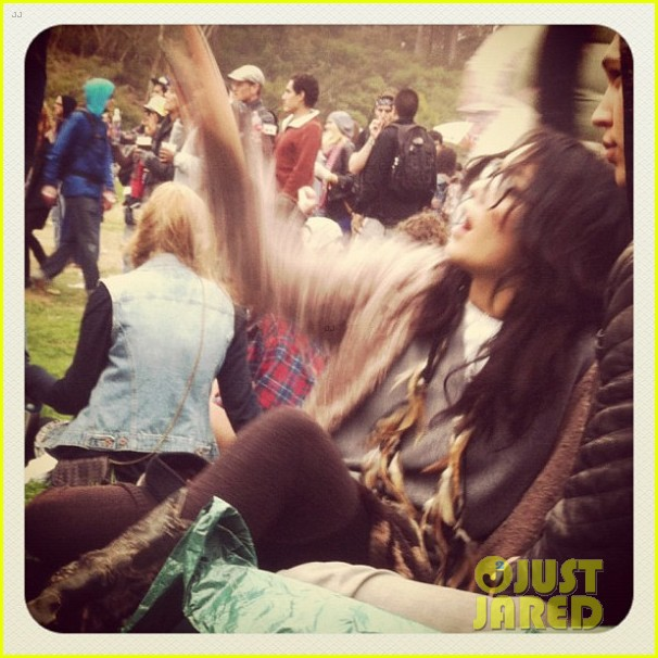 vanessa hudgens outside lands with austin butler 022700521