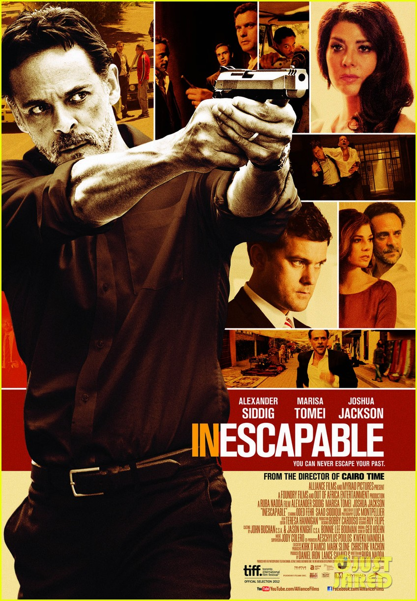joshua jackson inescapable trailer poster for tiff2703238