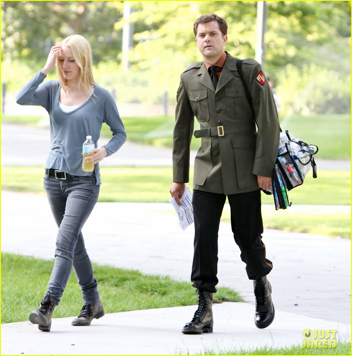 joshua jackson fringe set with georgina haig 092702026