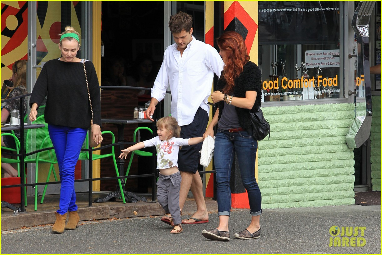 Diane Kruger Amp Joshua Jackson Sunday Brunch With Pals