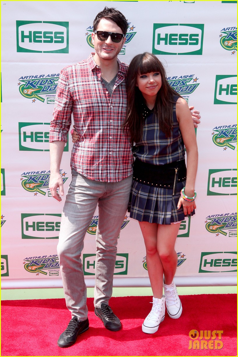 carly rae jepsen adam young arthur ashe kids day 012708651