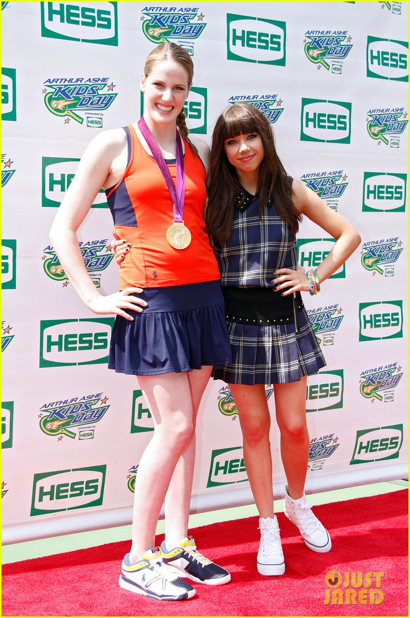 carly rae jepsen adam young arthur ashe kids day 082708658