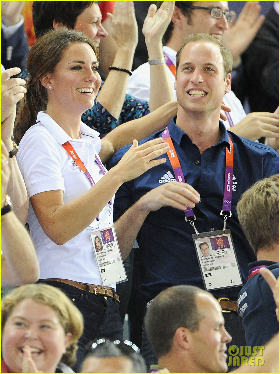 duchess kate prince william celebrate great britains cycling win at the olympics 26