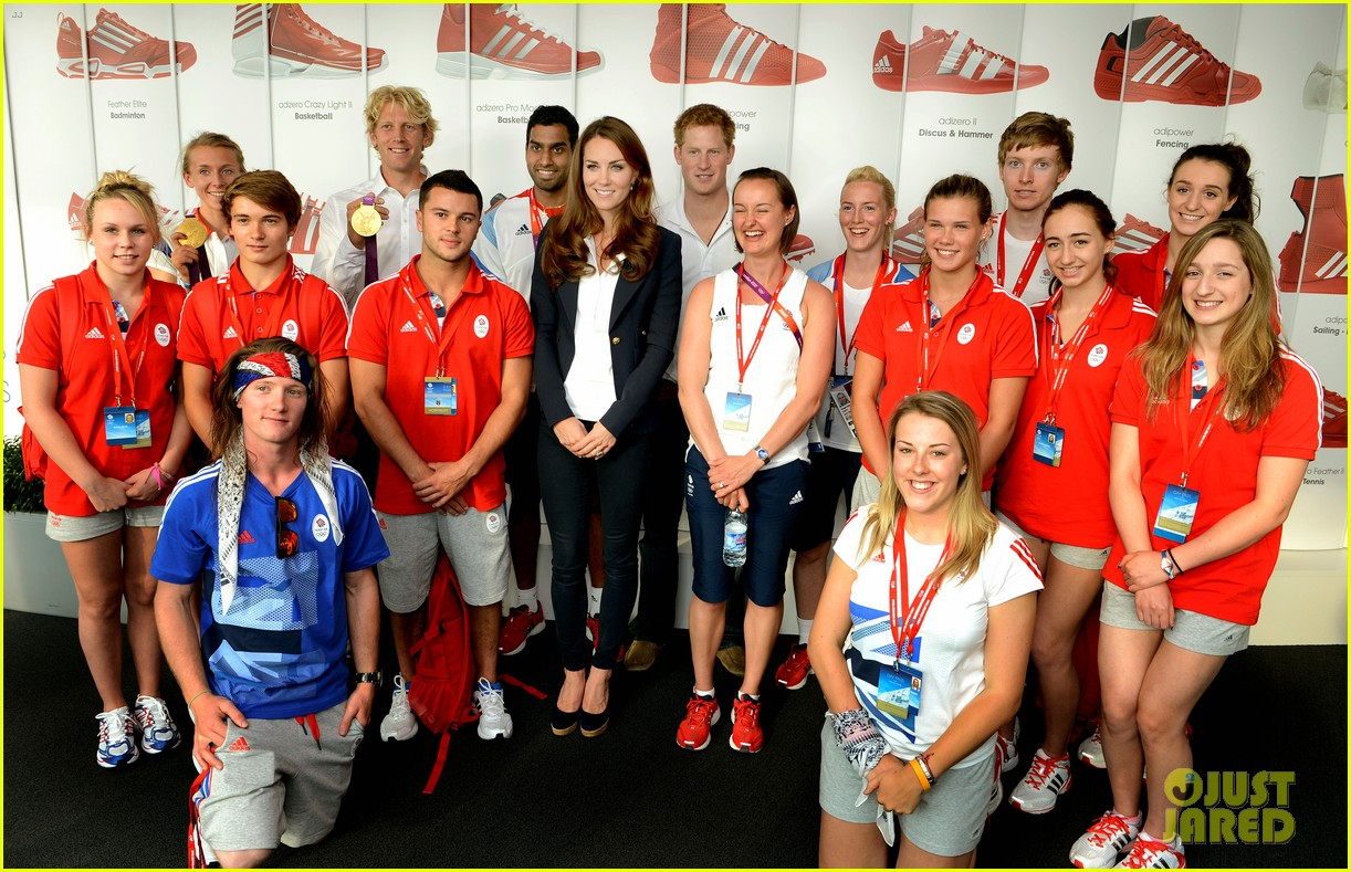 duchess kate prince harry meet olympic medalists 042699241