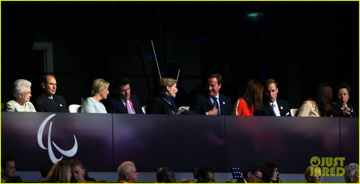 duchess kate prince william paralympics opening ceremony 11