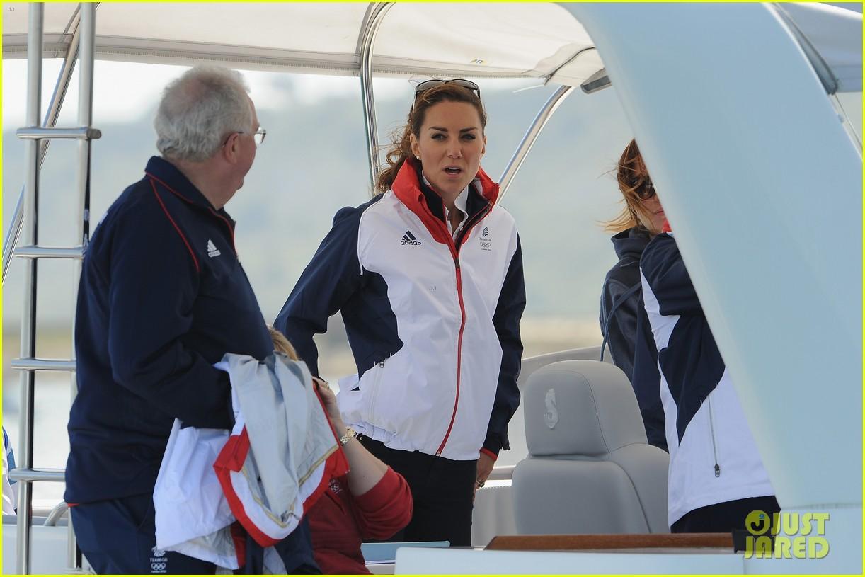 duchess kate womens laser radials at the olympics 042697727