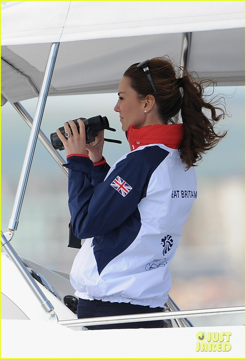 duchess kate womens laser radials at the olympics 052697728
