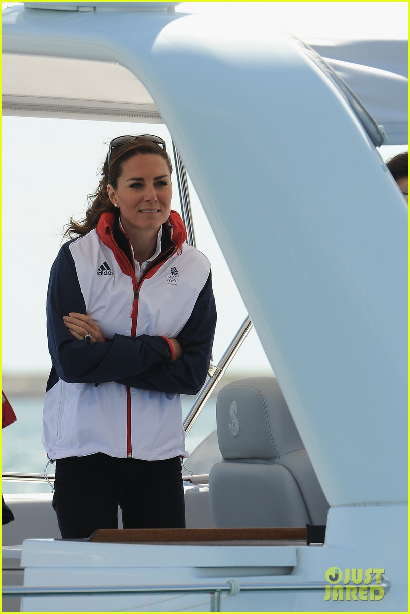 duchess kate womens laser radials at the olympics 08