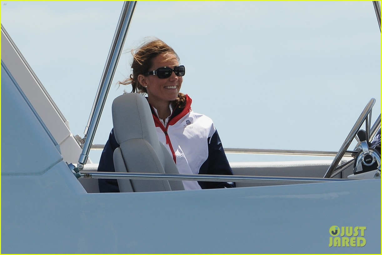 duchess kate womens laser radials at the olympics 252697748
