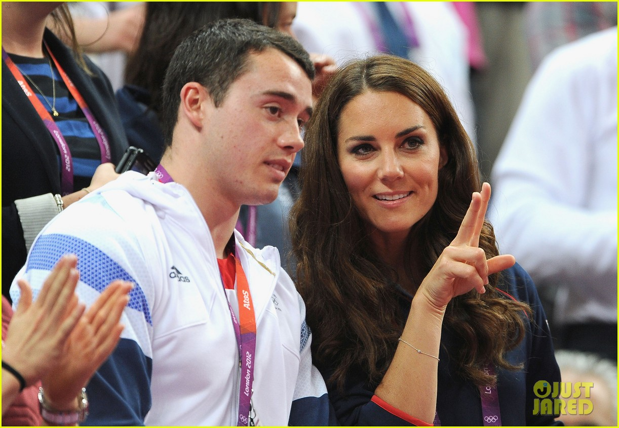 duchess kate olympic spectator 142697401