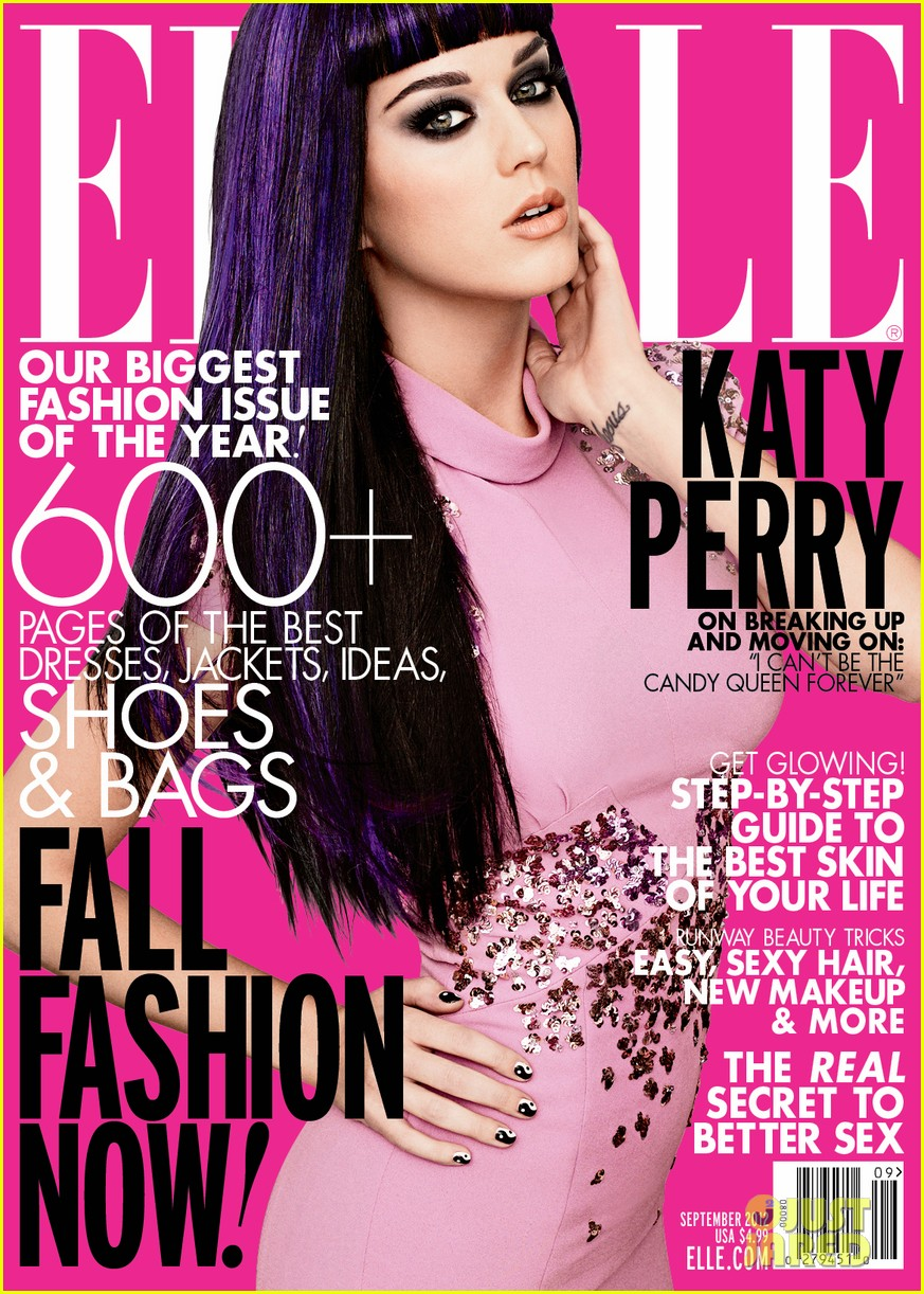 Katy Perry Covers 'Elle' September 2012: Photo 2695265