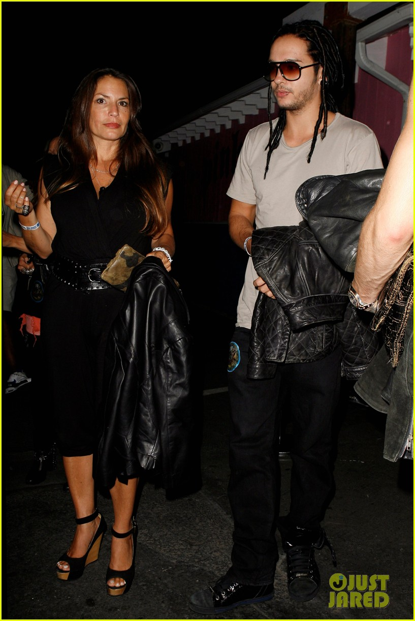 bill tom kaulitz party with aerosmith 052698159