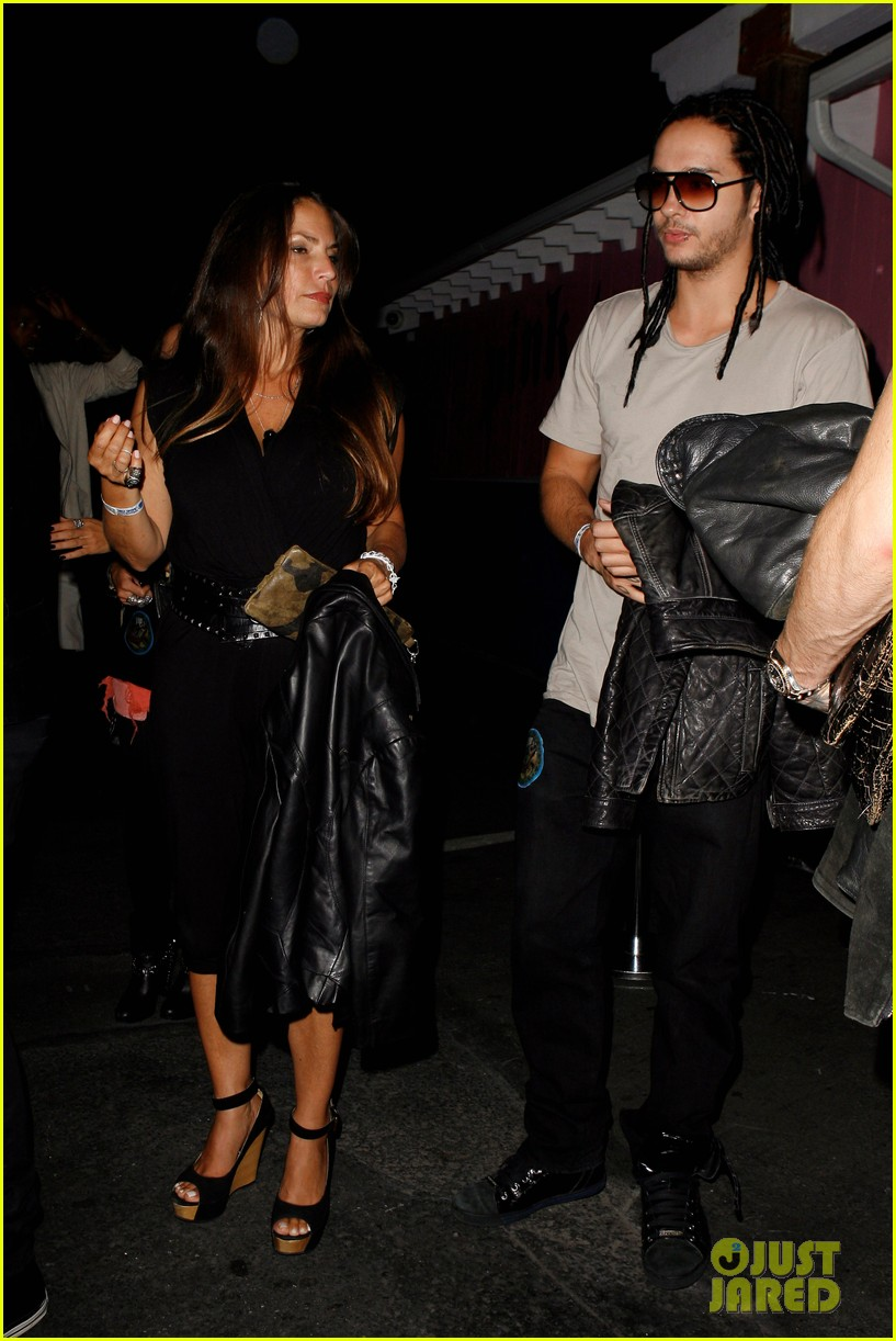 Picture of tom kaulitz - Bill Tom Kaulitz Party With Aerosmith