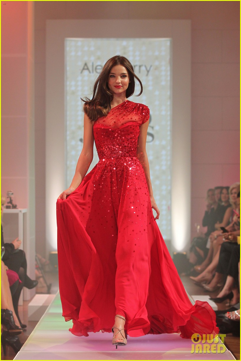 miranda kerr david jones season launch show 062701961