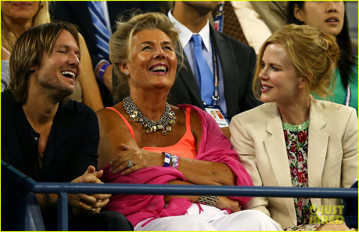nicole kidman us open kiss with keith urban 052712218