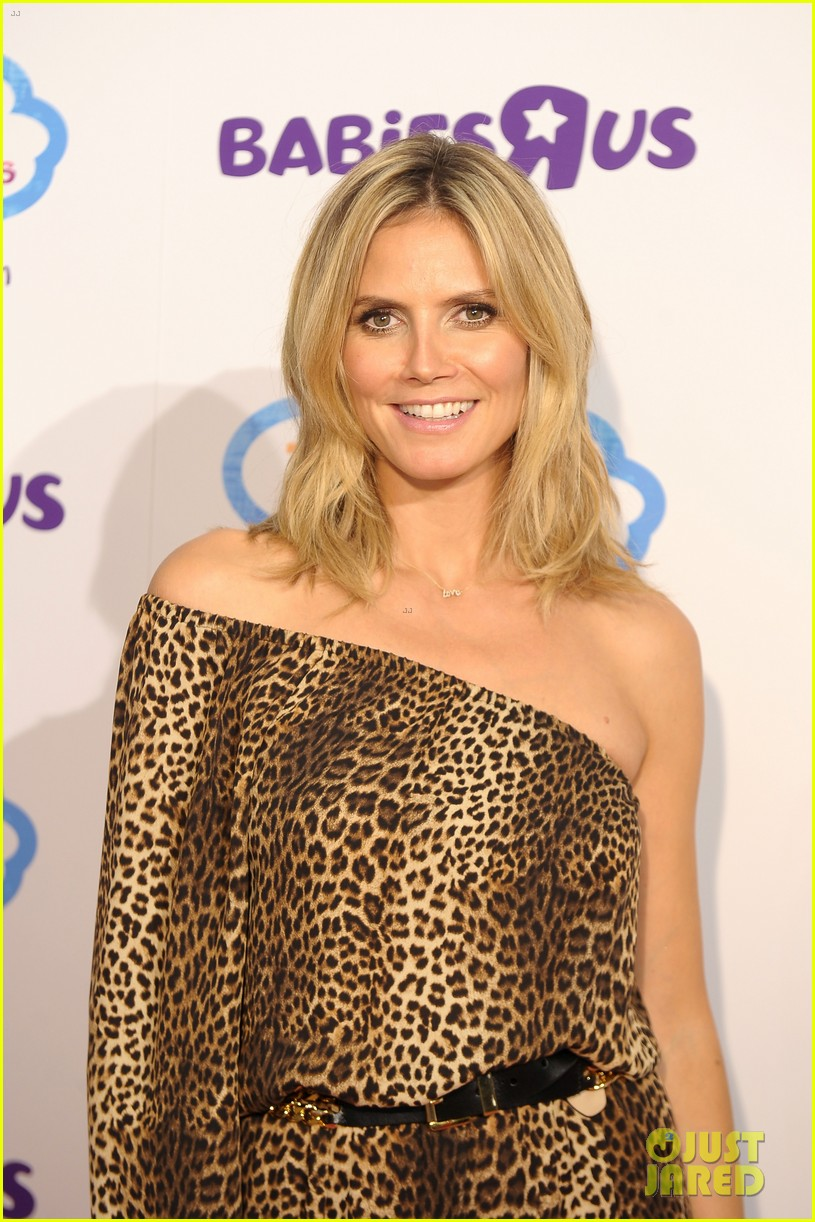 heidi klum launches truly scrumptious for babies r us 02