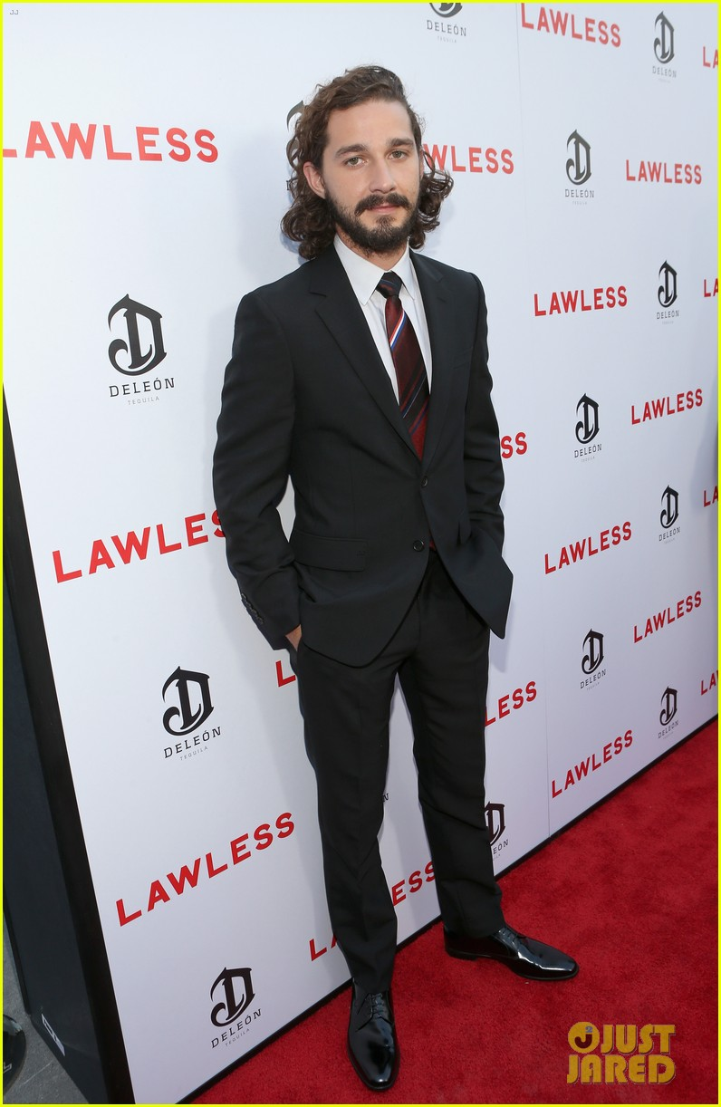 shia labeouf liberty ross lawless hollywood premiere 012707070