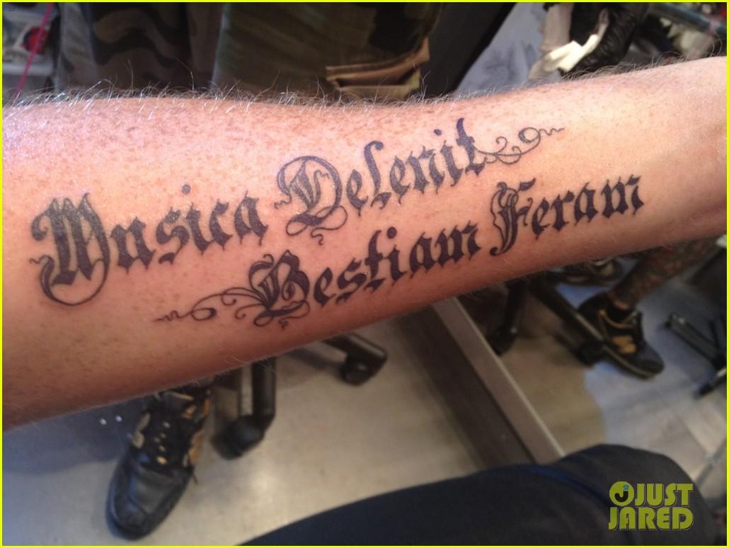 adam lambert new latin arm tattoo2701476