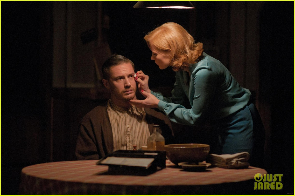 tom hardy jessica chastain shia labeouf lawless stills 132700257