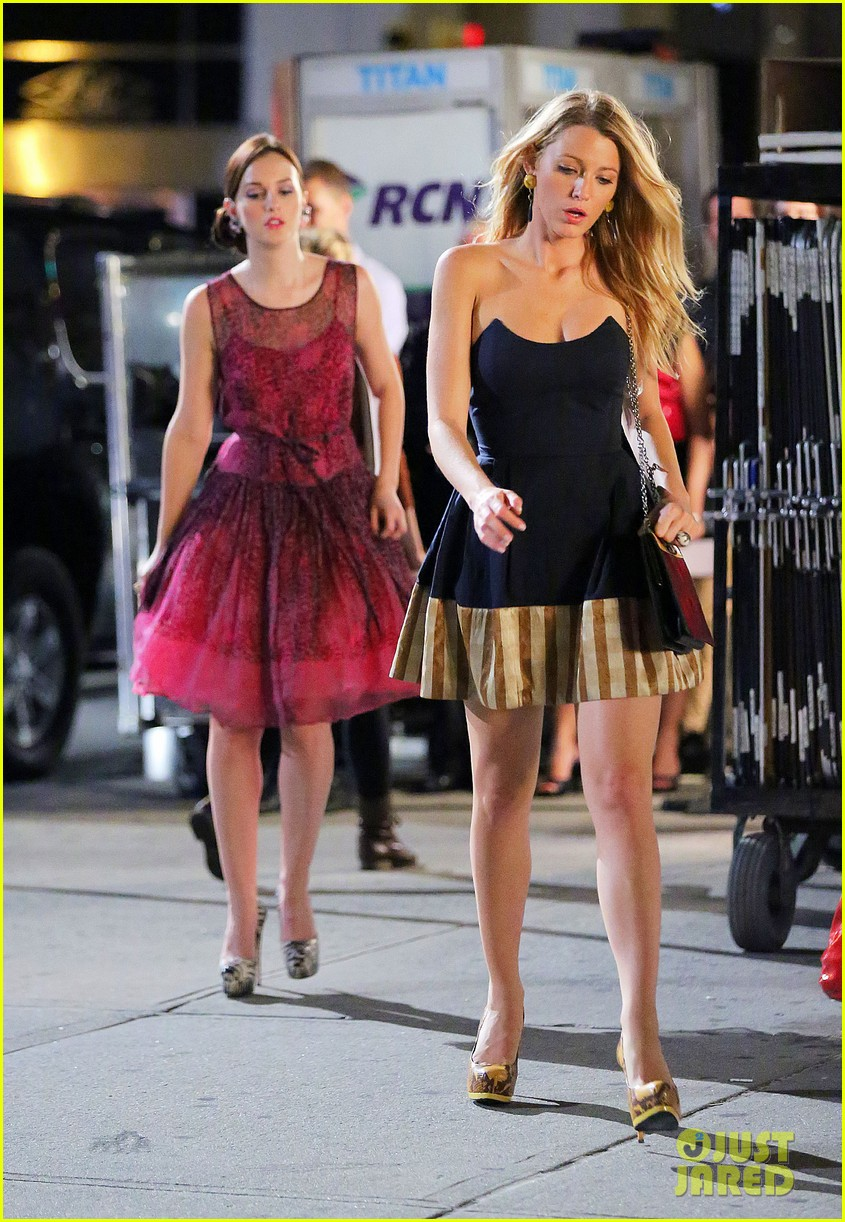 blake lively leighton meester gossip girl duo 01
