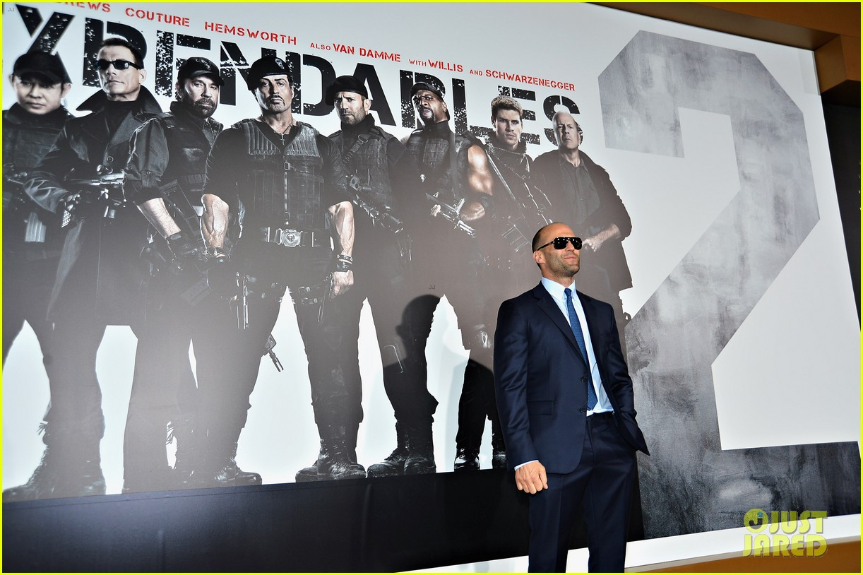 ryan lochte expendables 2 premiere with sylvester stallone 072702870