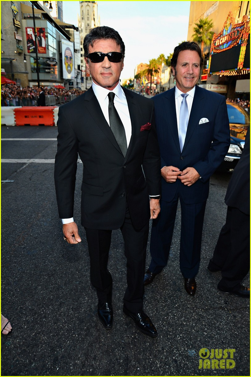 ryan lochte expendables 2 premiere with sylvester stallone 162702879