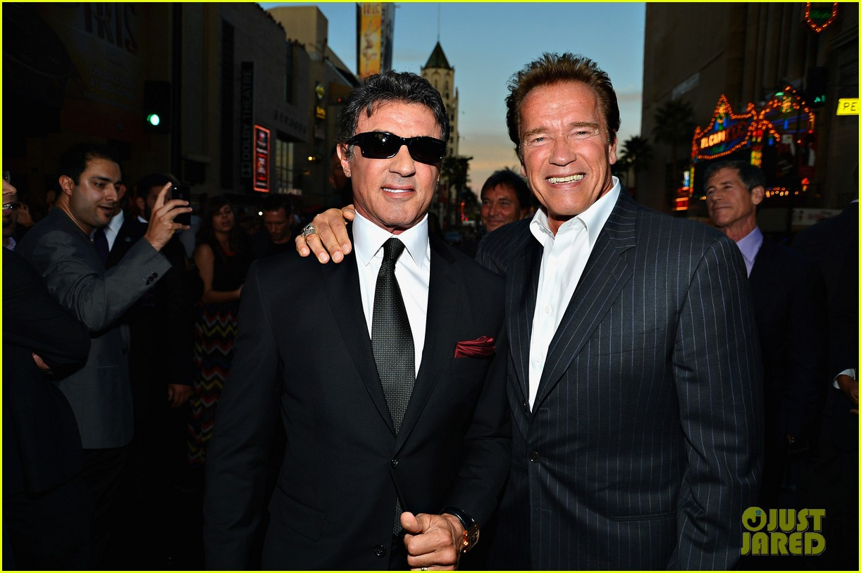 ryan lochte expendables 2 premiere with sylvester stallone 212702884