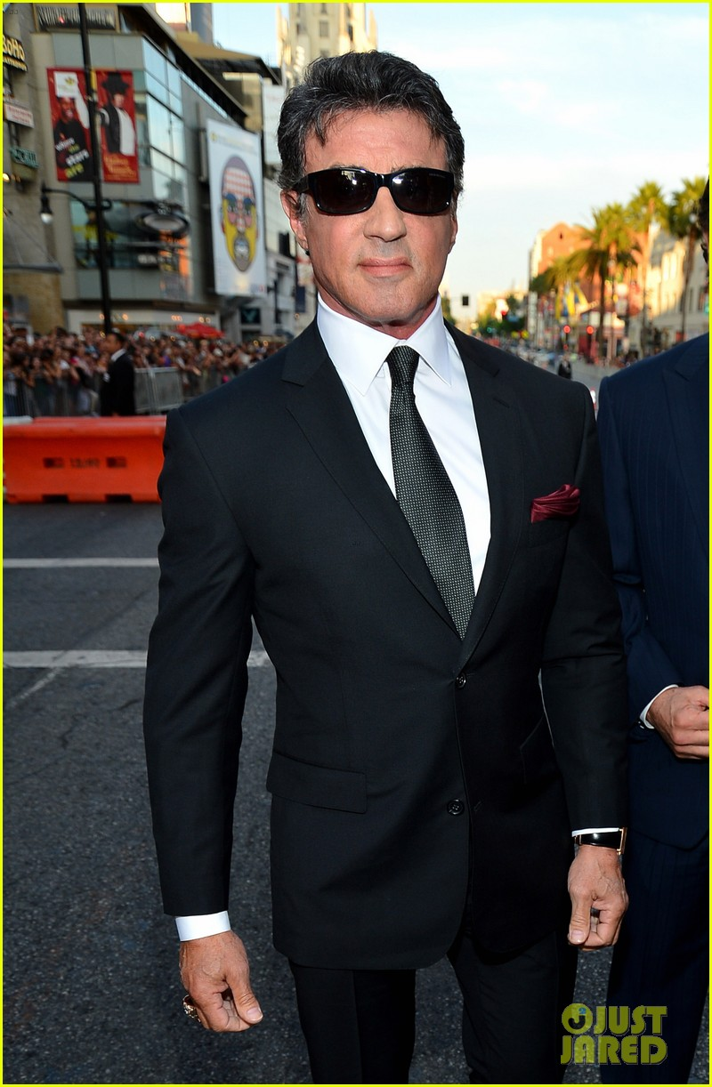 ryan lochte expendables 2 premiere with sylvester stallone 222702885