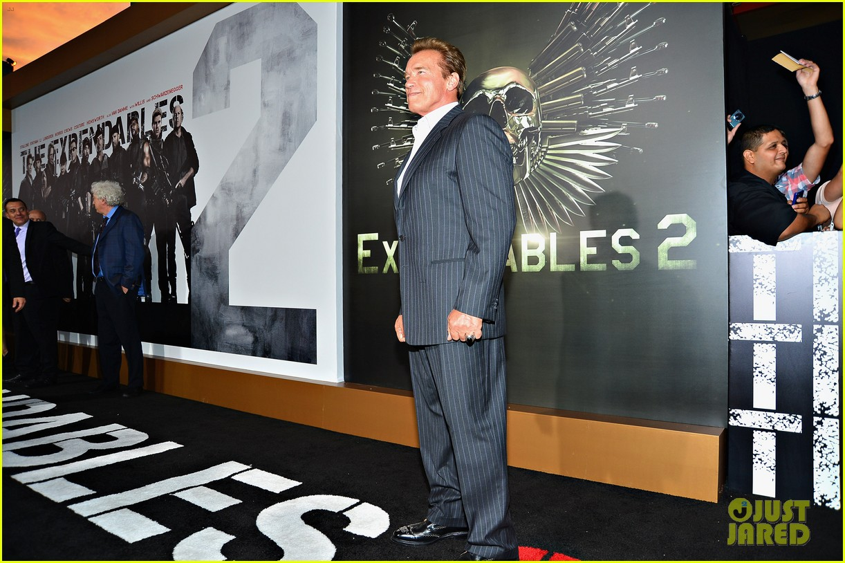 ryan lochte expendables 2 premiere with sylvester stallone 282702891