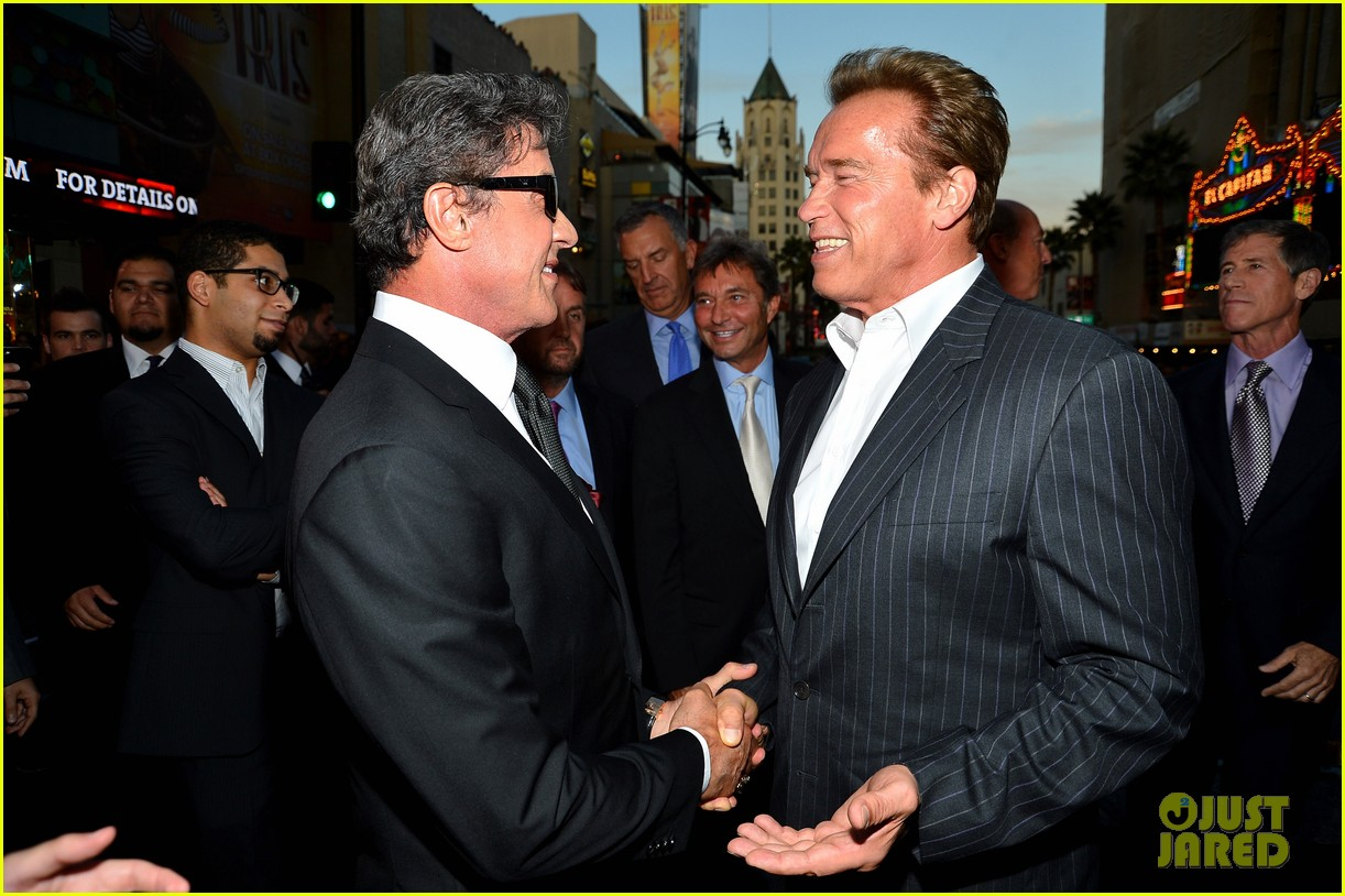 ryan lochte expendables 2 premiere with sylvester stallone 292702892